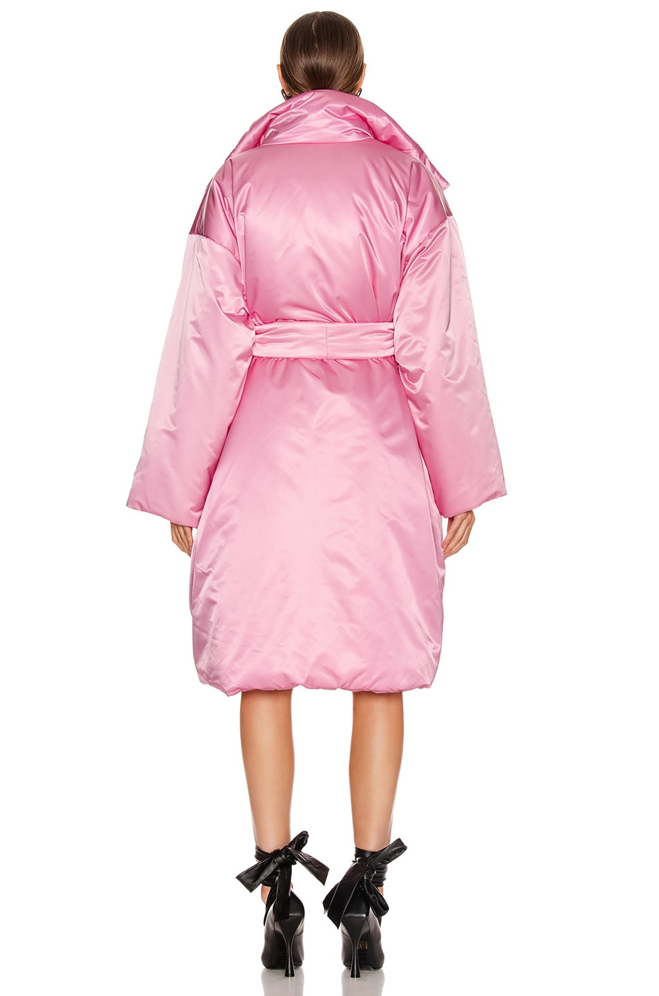 Image 5 of Balenciaga Short Padded Coat in Pink
