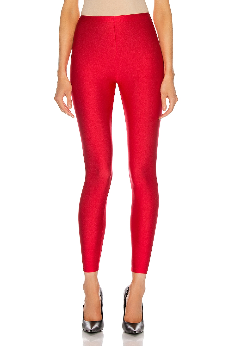 Image 1 of Balenciaga Simple Legging in Carmine