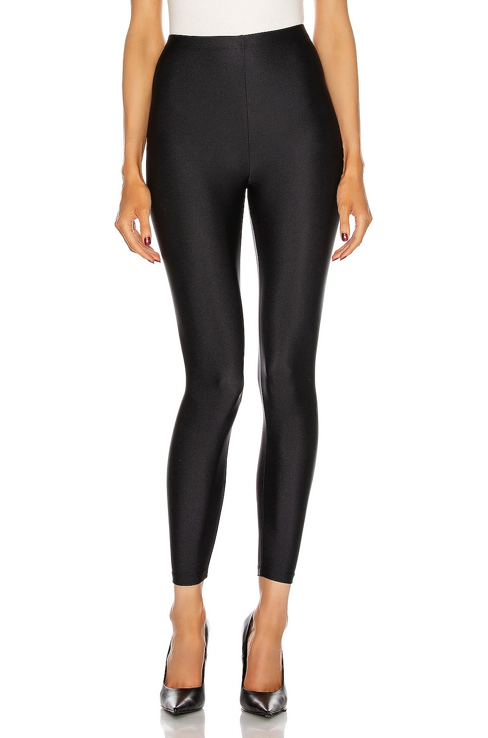 Image 1 of Balenciaga Skinny Legging in Black