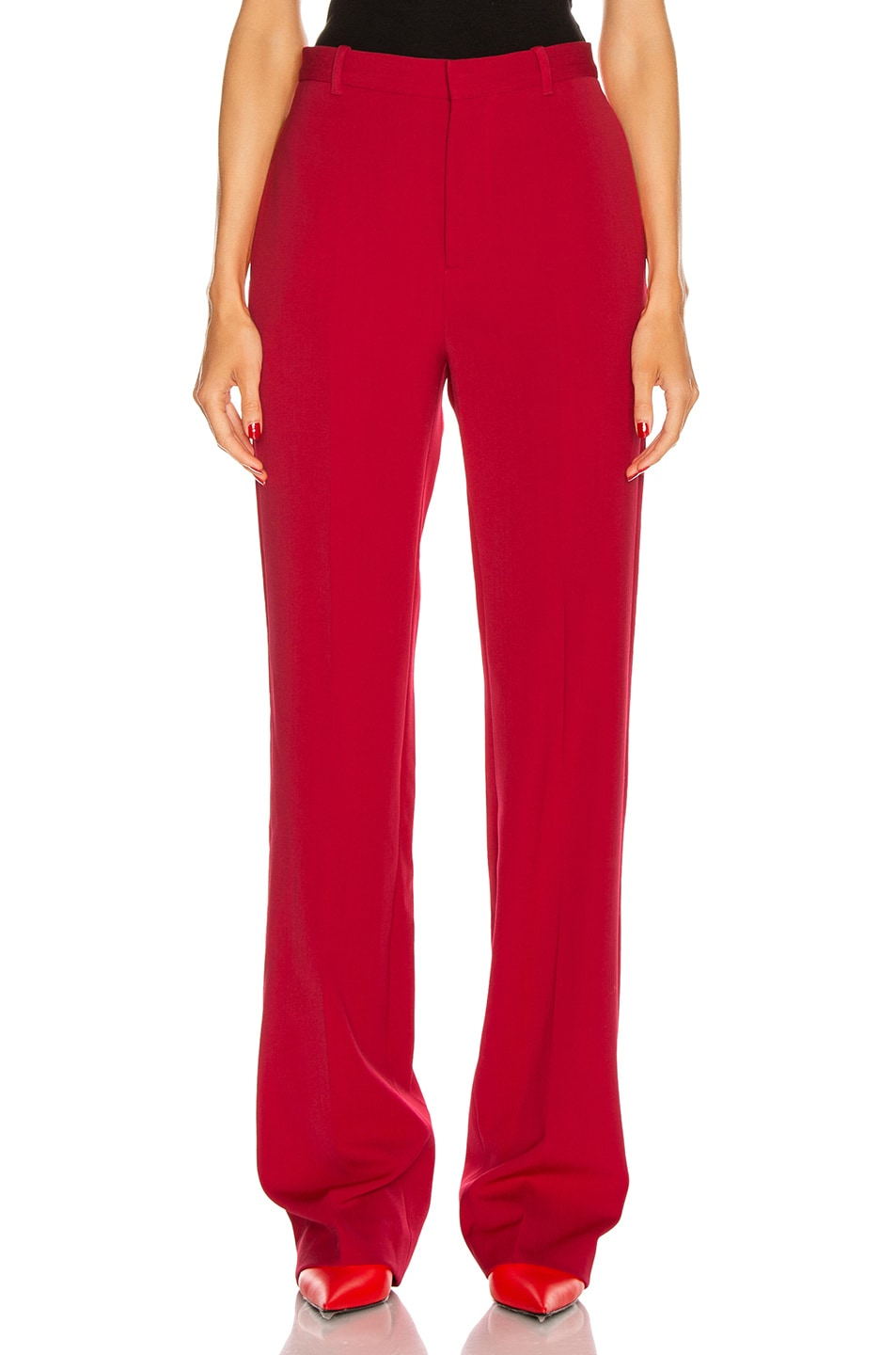 Image 1 of Balenciaga Tailored Pant in Masai Red
