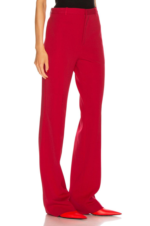 Image 2 of Balenciaga Tailored Pant in Masai Red