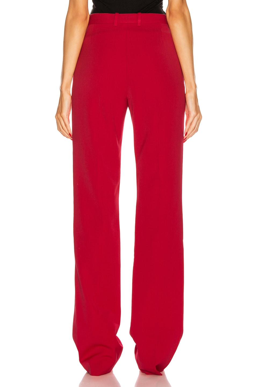 Image 3 of Balenciaga Tailored Pant in Masai Red