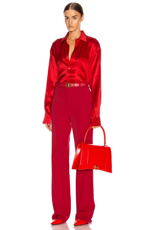 Image 4 of Balenciaga Tailored Pant in Masai Red