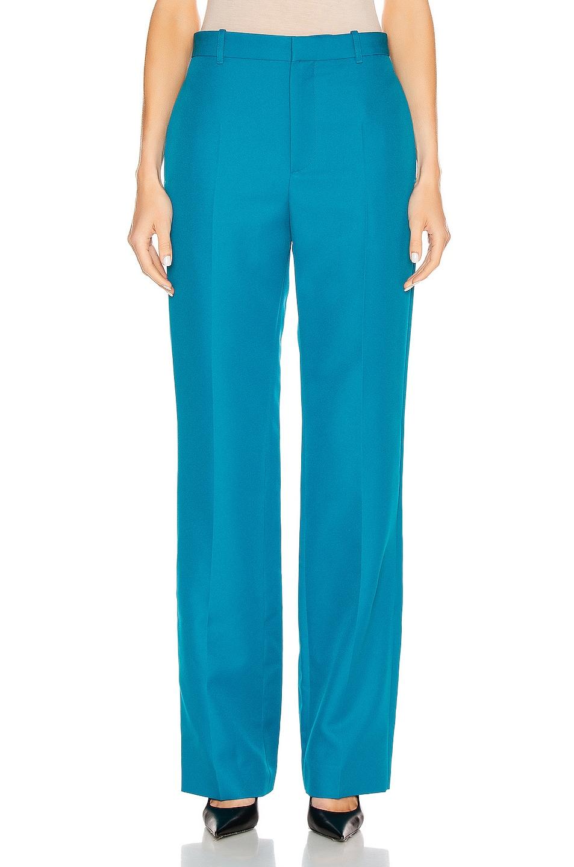 Image 1 of Balenciaga Tailored Pant in Petrol Blue