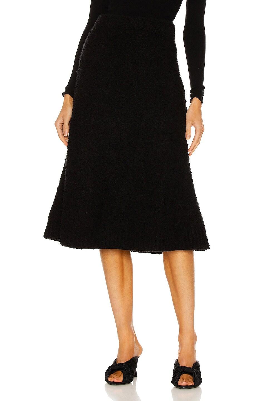 Image 1 of Balenciaga Midi Skirt in Black