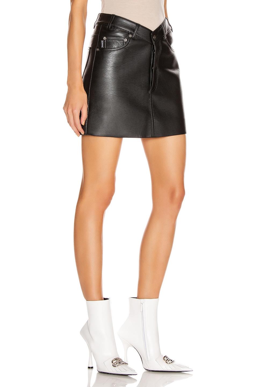 Image 2 of Balenciaga V Neck Skirt in Black