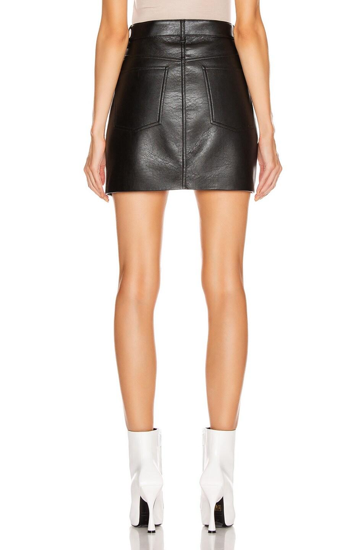 Image 3 of Balenciaga V Neck Skirt in Black