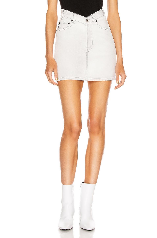 Image 1 of Balenciaga V Neck Skirt in Cement Grey