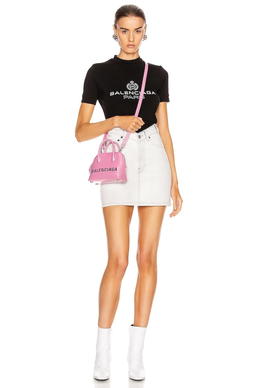 Image 4 of Balenciaga V Neck Skirt in Cement Grey