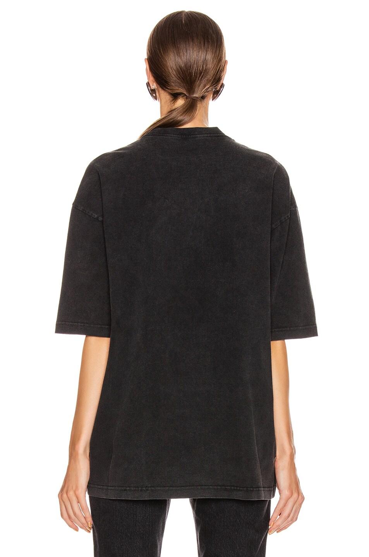 Image 3 of Balenciaga BB Regular T Shirt in Anthracite