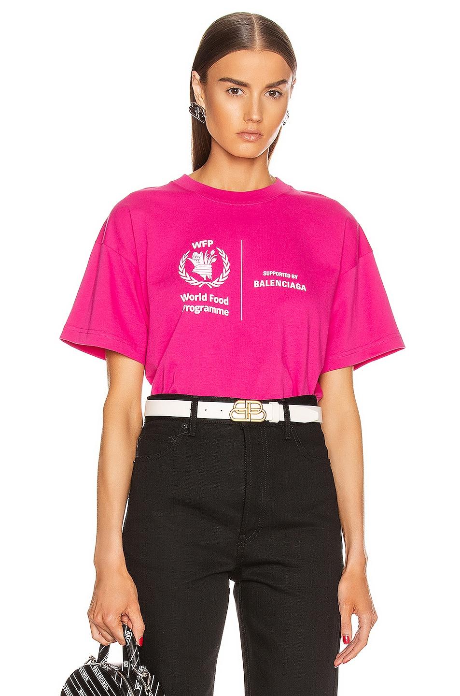 Image 2 of Balenciaga Medium T Shirt in Pink