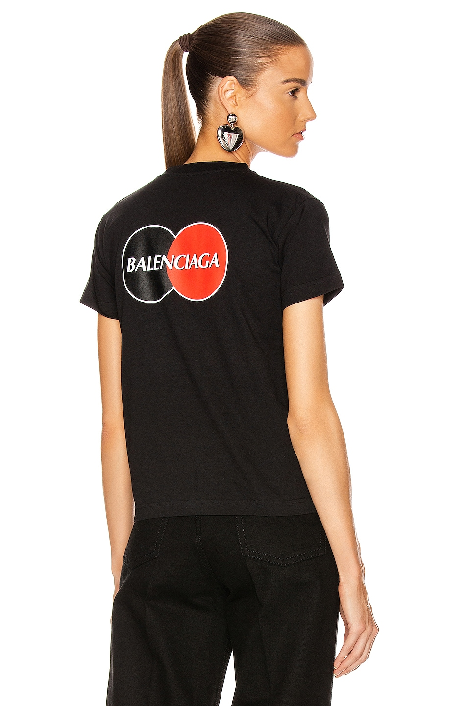 Image 1 of Balenciaga Fitted Shirt in Black