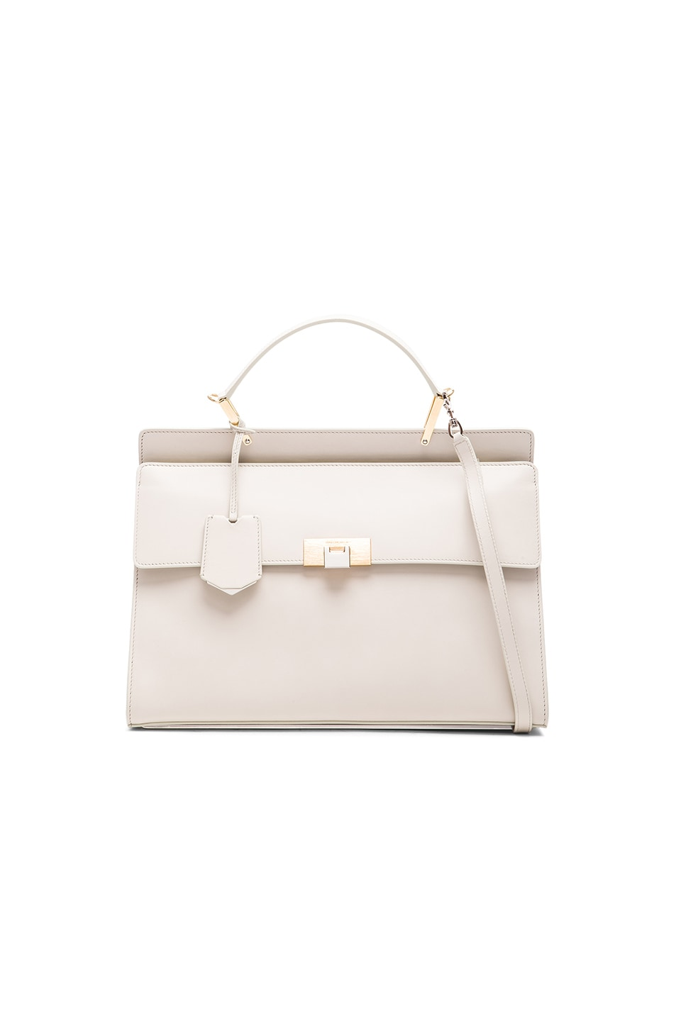 Image 1 of Balenciaga Le Dix Zip Cartable AJ in Cream