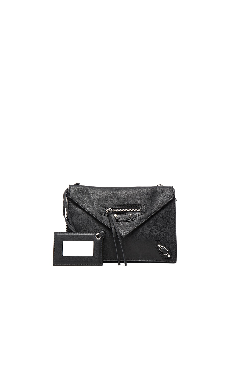 Image 1 of Balenciaga Papier Zip Around Triple in Black