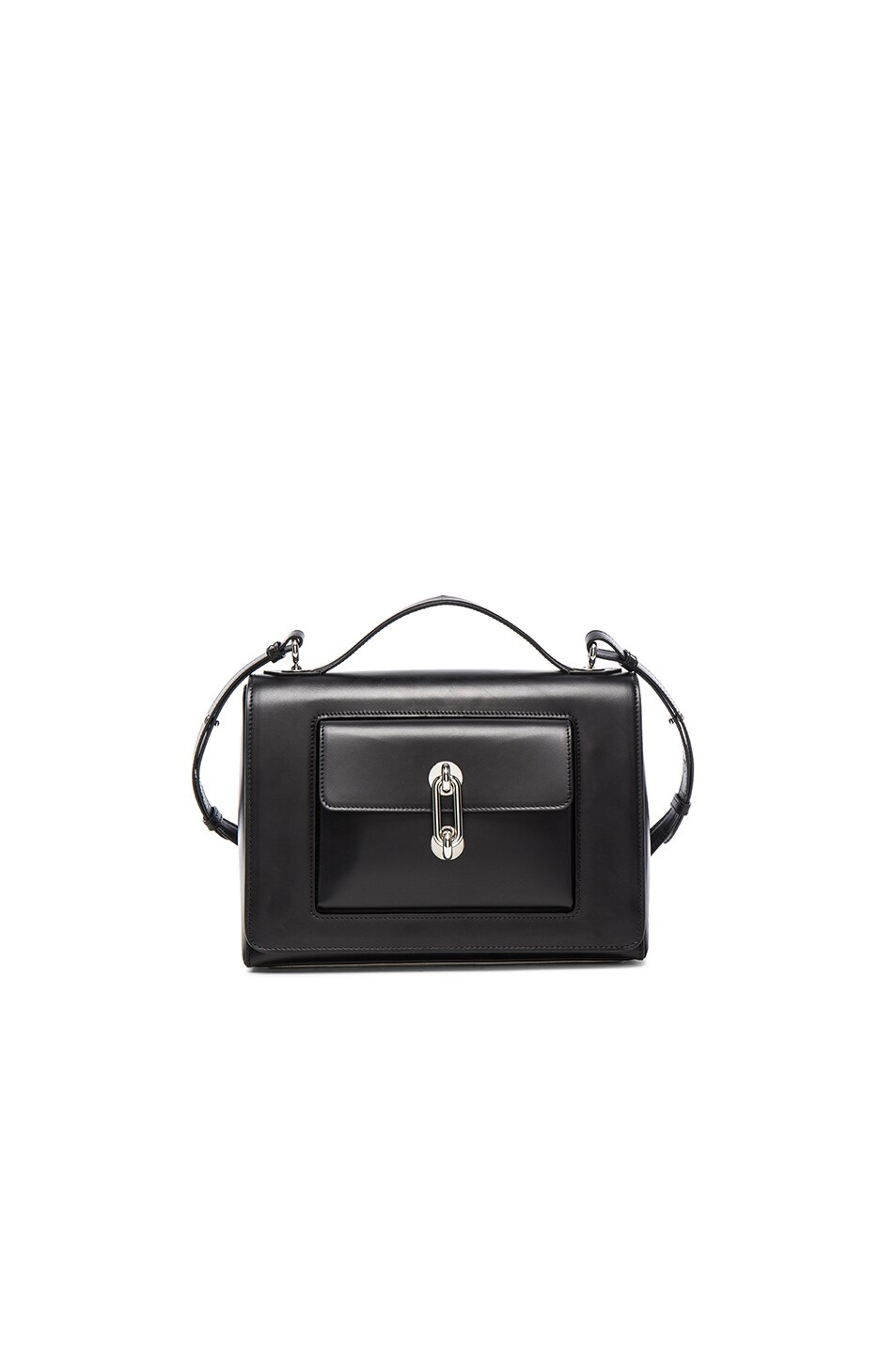 Image 1 of Balenciaga Maillon Flap Shoulder Bag in Black