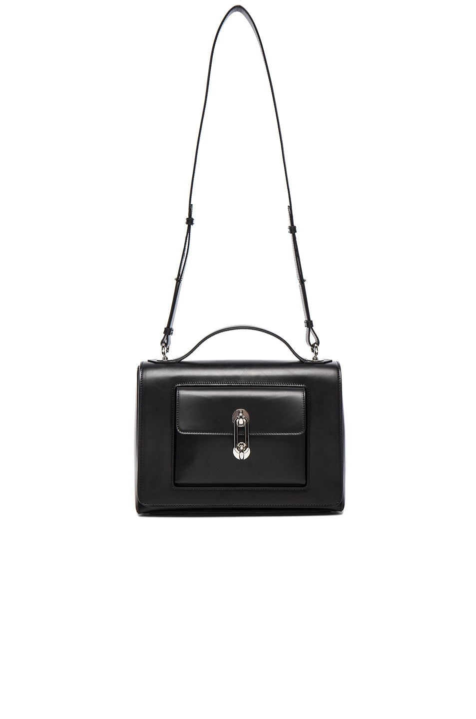 Image 6 of Balenciaga Maillon Flap Shoulder Bag in Black