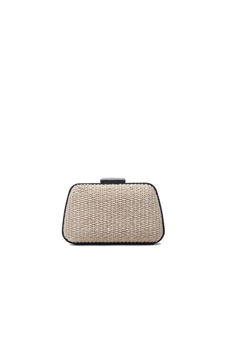 Image 1 of Balenciaga Minaudiere Box in Black & Natural