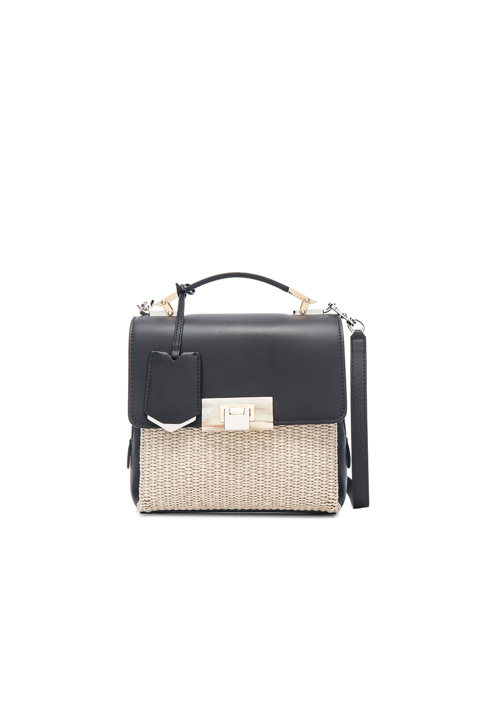 Image 1 of Balenciaga Le Dix Soft Mini in Naturel, Noir & Marron