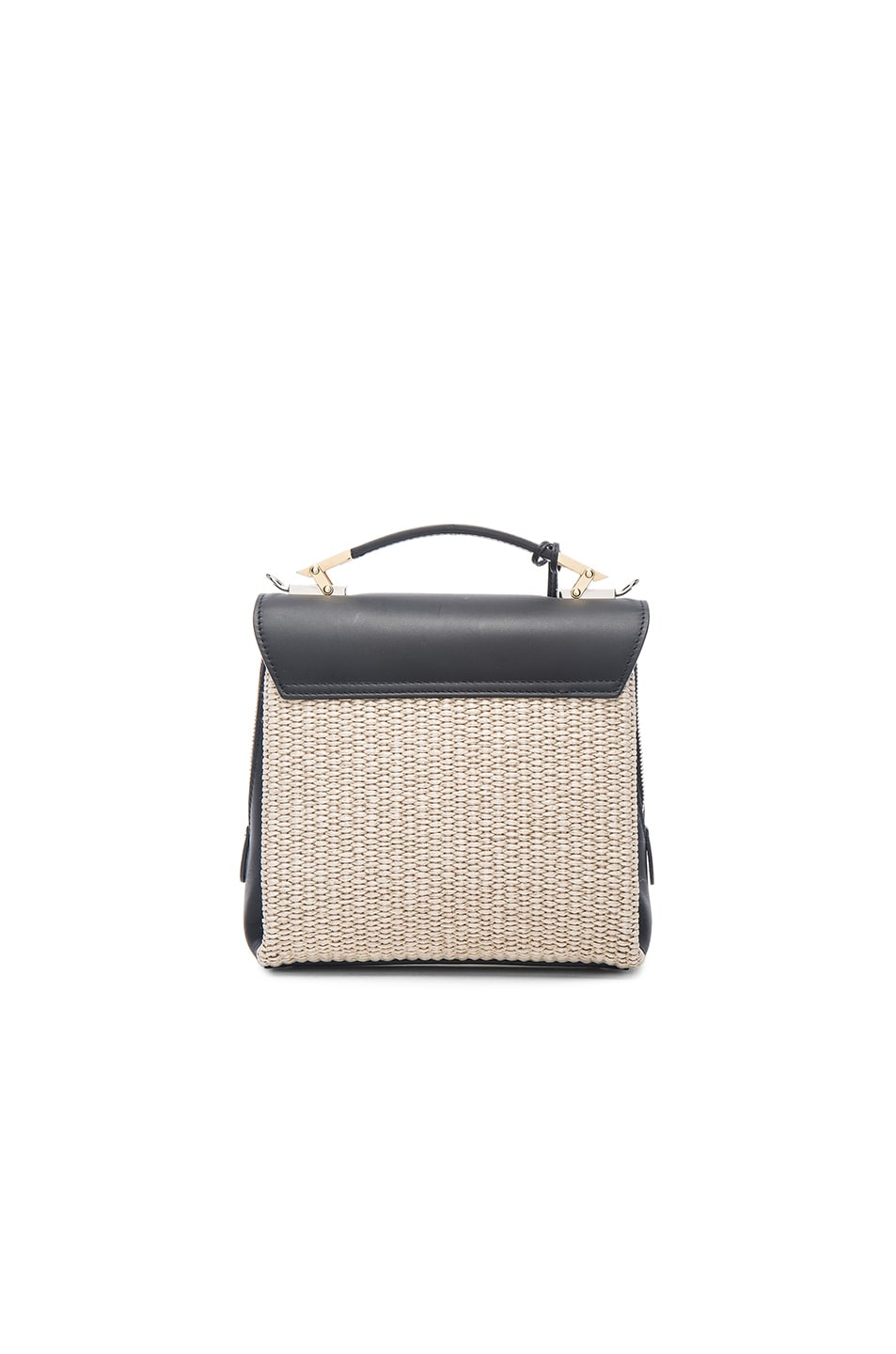 Image 3 of Balenciaga Le Dix Soft Mini in Naturel, Noir & Marron