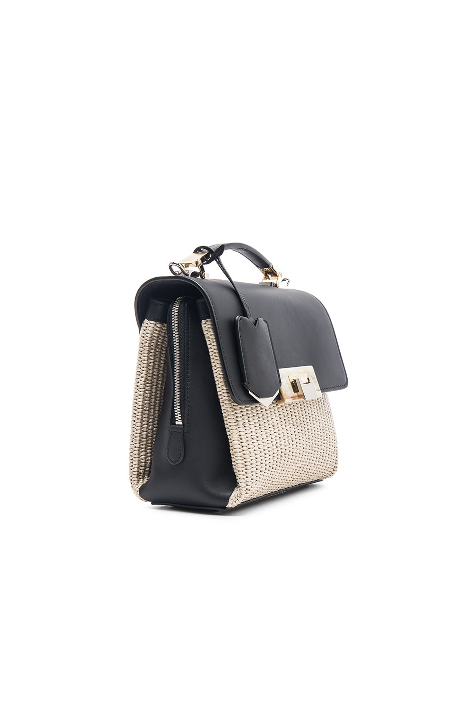 Image 4 of Balenciaga Le Dix Soft Mini in Naturel, Noir & Marron