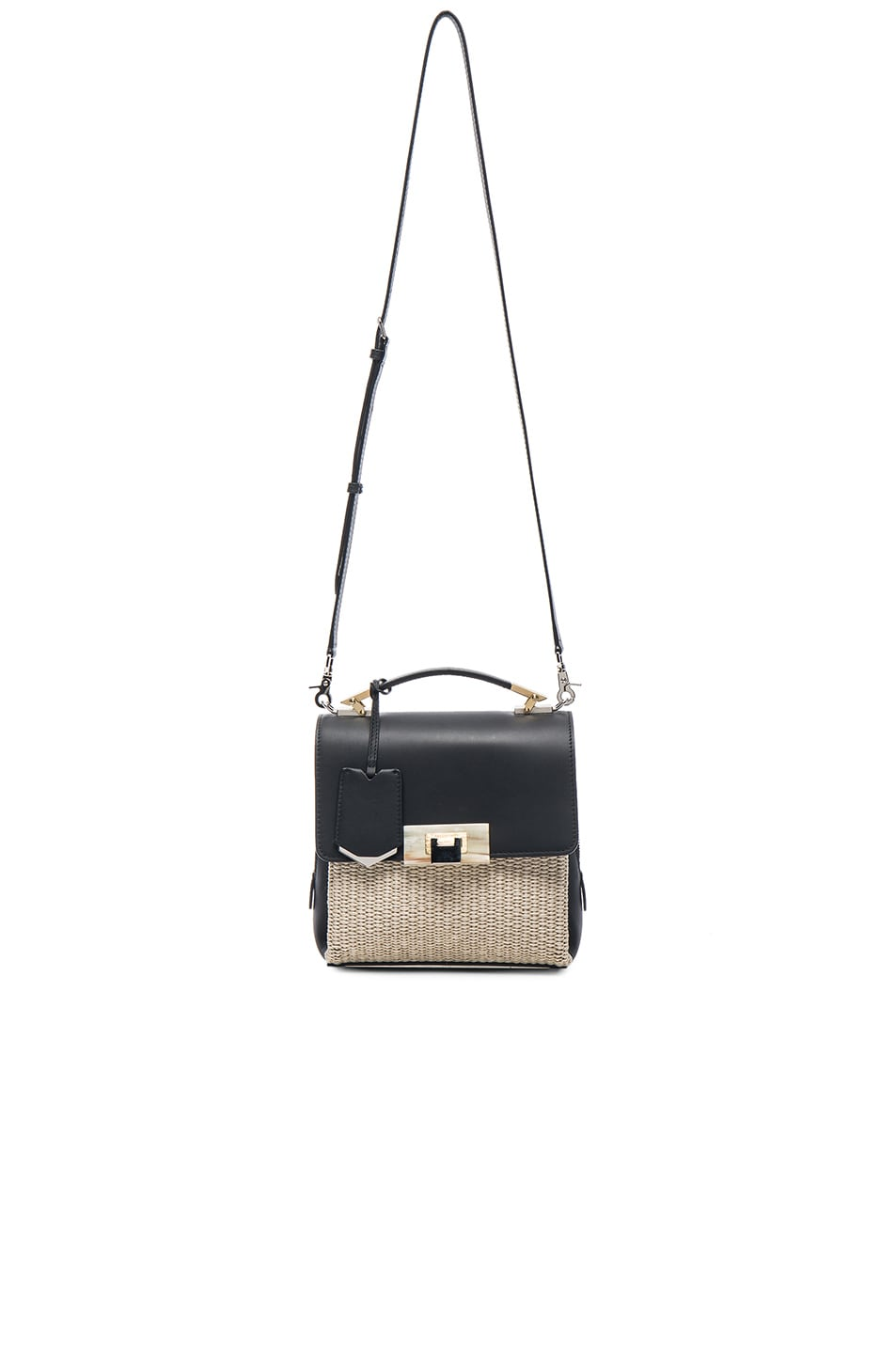 Image 6 of Balenciaga Le Dix Soft Mini in Naturel, Noir & Marron