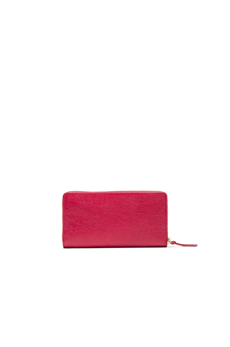 Image 2 of Balenciaga Classic Continental Wallet in Saffron Red