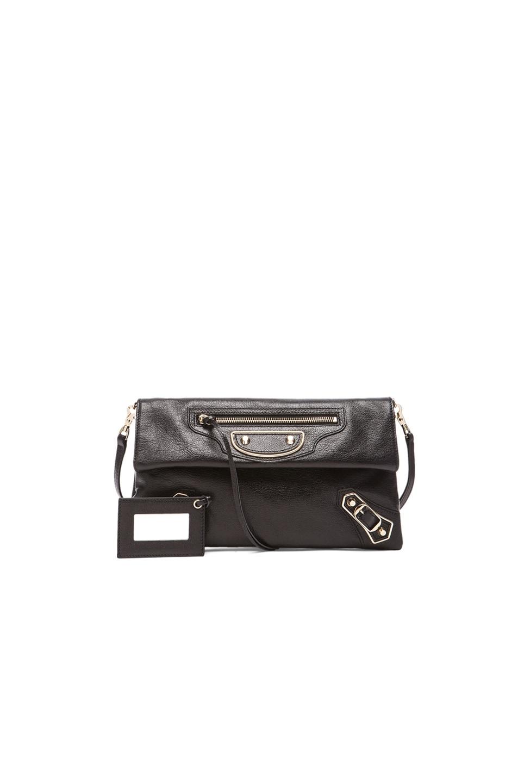 Image 1 of Balenciaga Classic Envelope Strap in Noir