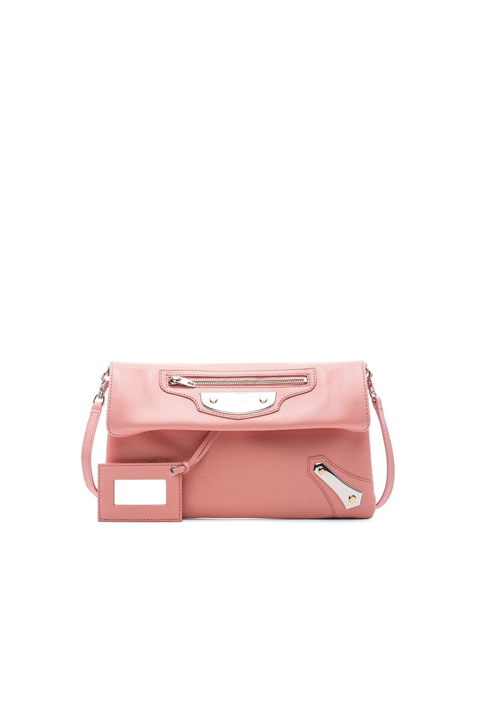 Image 1 of Balenciaga Metal Plate Envelope in Petal Rose