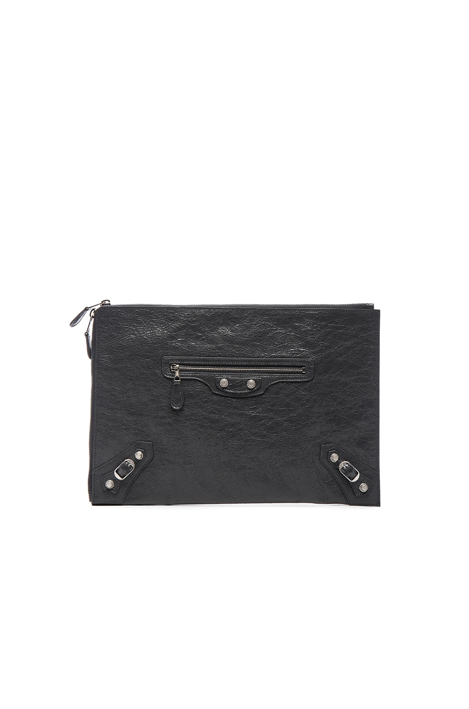 Image 1 of Balenciaga Giant Arena Pouch in Fossil Grey
