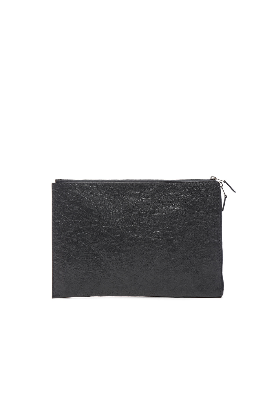 Image 2 of Balenciaga Giant Arena Pouch in Fossil Grey