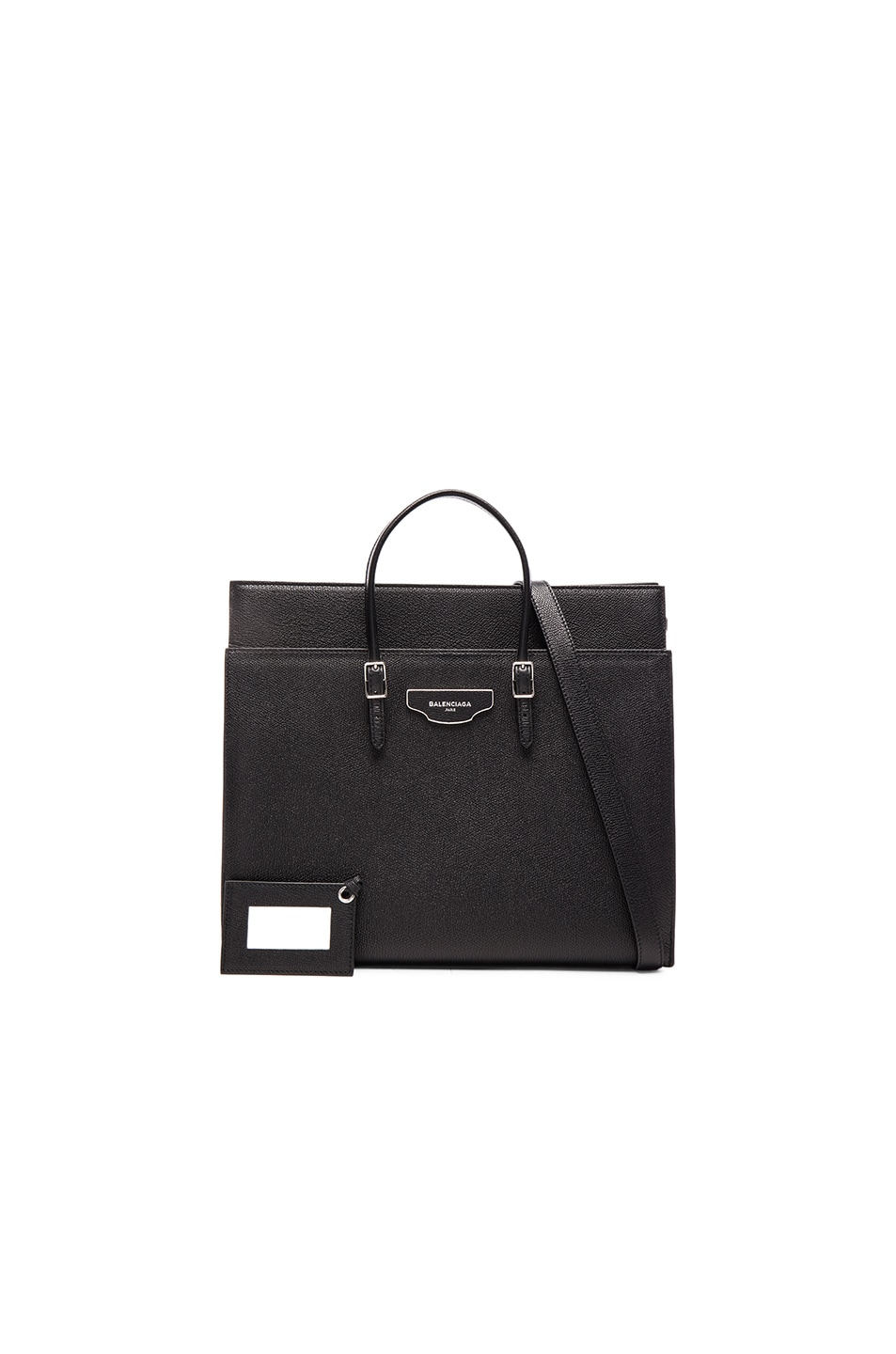 Image 1 of Balenciaga Medium City Plate Portfolio in Black