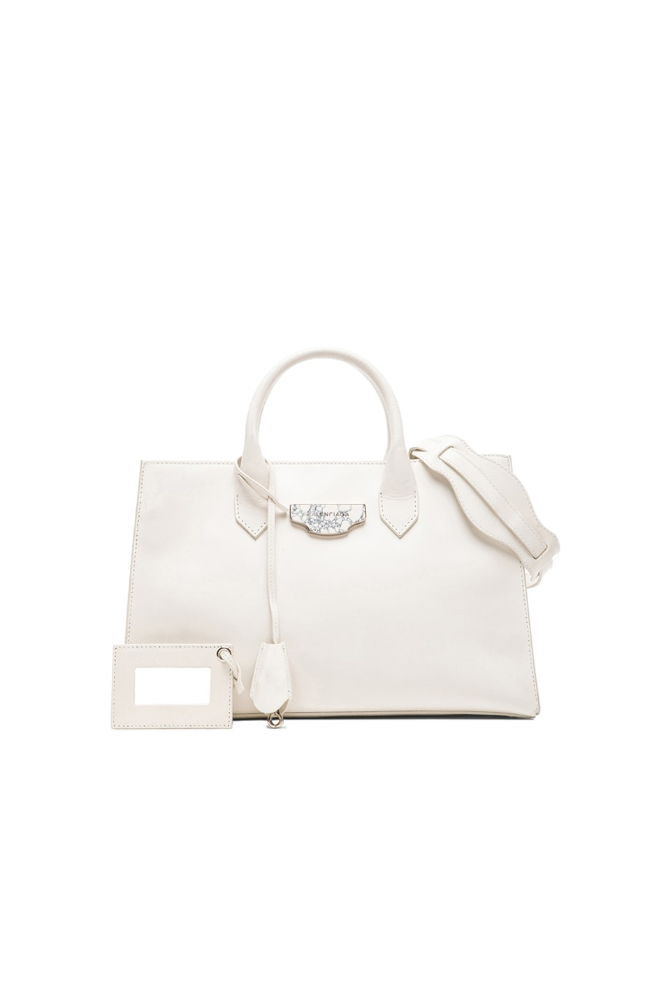 Image 1 of Balenciaga Extra Small Nude Work in White
