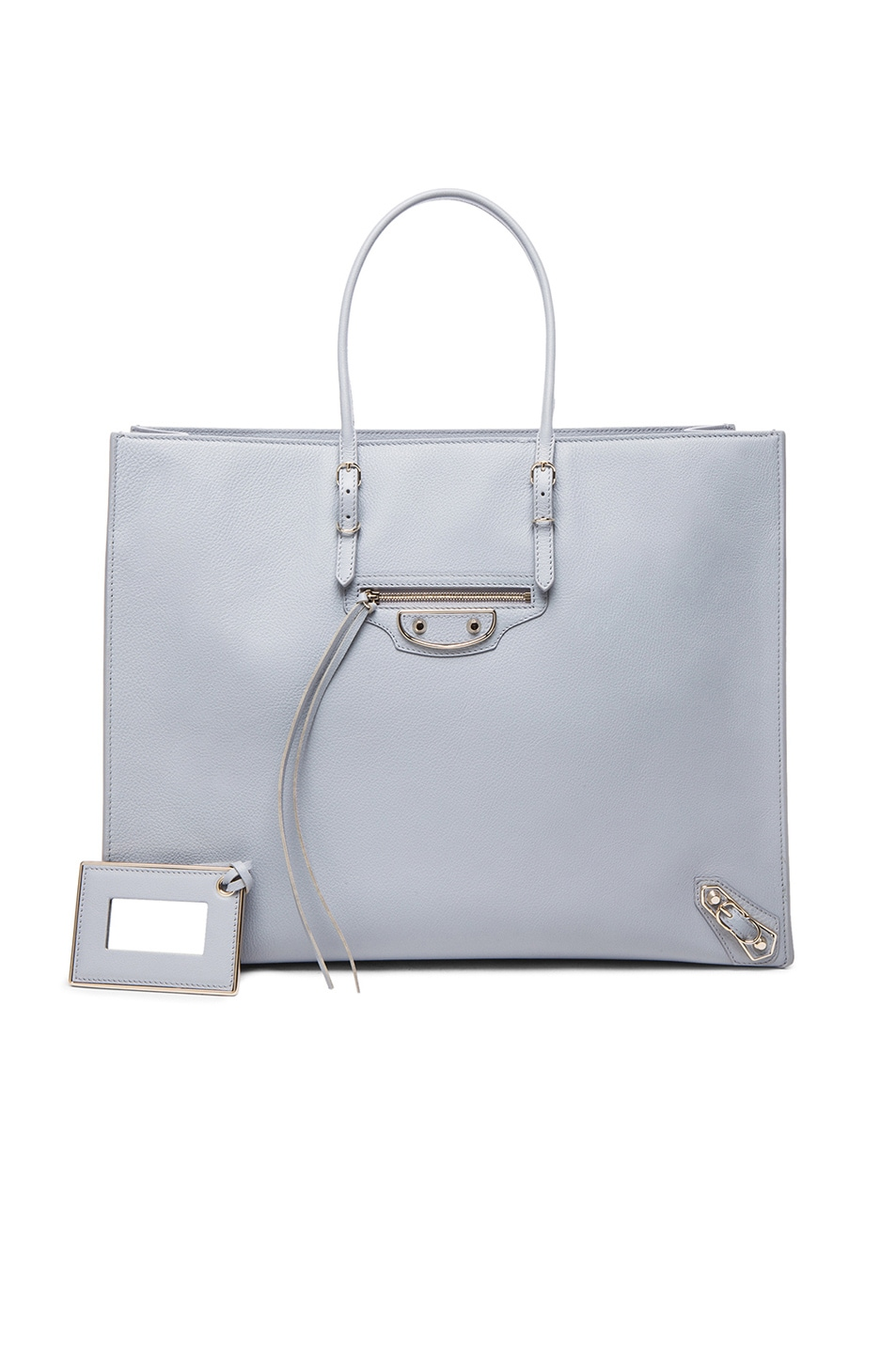 Image 1 of Balenciaga Papier A4 Tote with Nickel in Grey