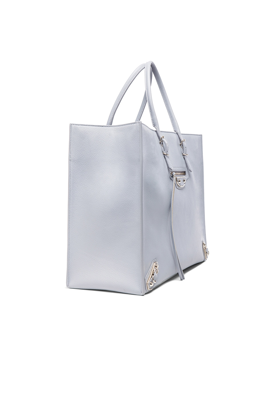 Image 3 of Balenciaga Papier A4 Tote in Grey