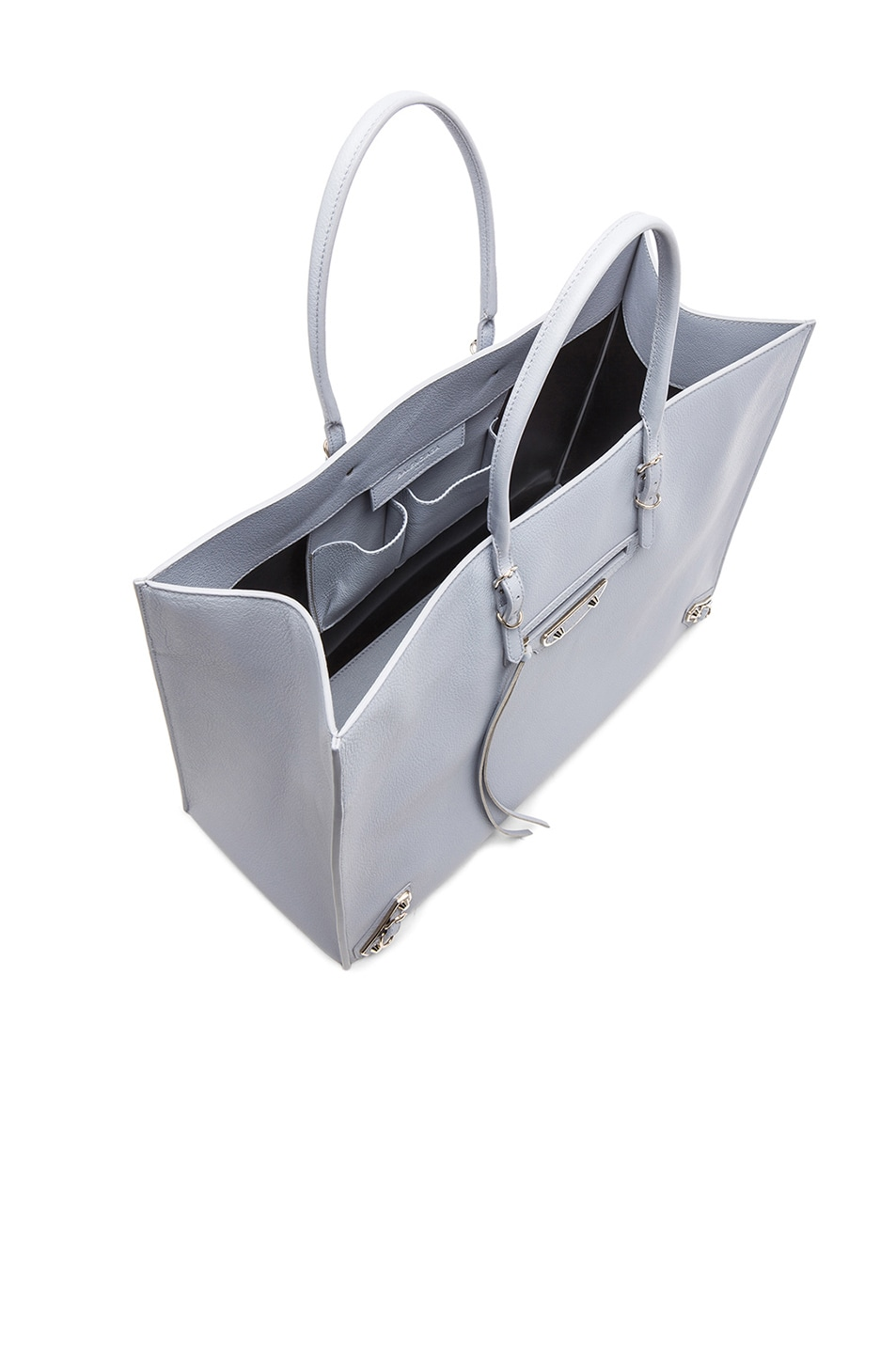 Image 4 of Balenciaga Papier A4 Tote in Grey
