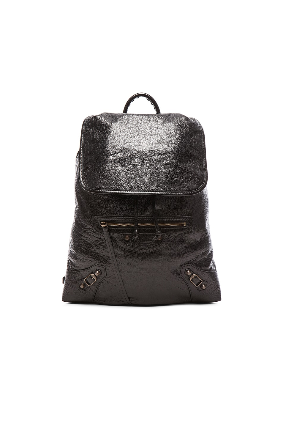 Image 1 of Balenciaga Classic Small Traveler Backpack with Traditional Studs in Black