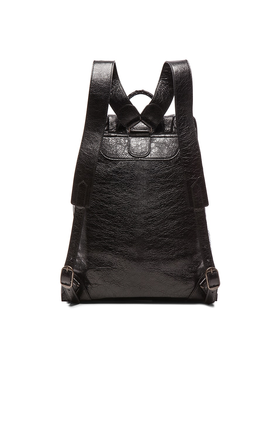 Image 3 of Balenciaga Classic Small Traveler Backpack with Traditional Studs in Black