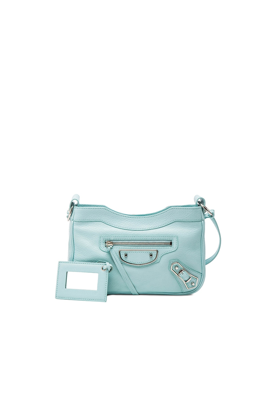 Image 1 of Balenciaga Metallic Edge Hip AJ in Maldives Blue