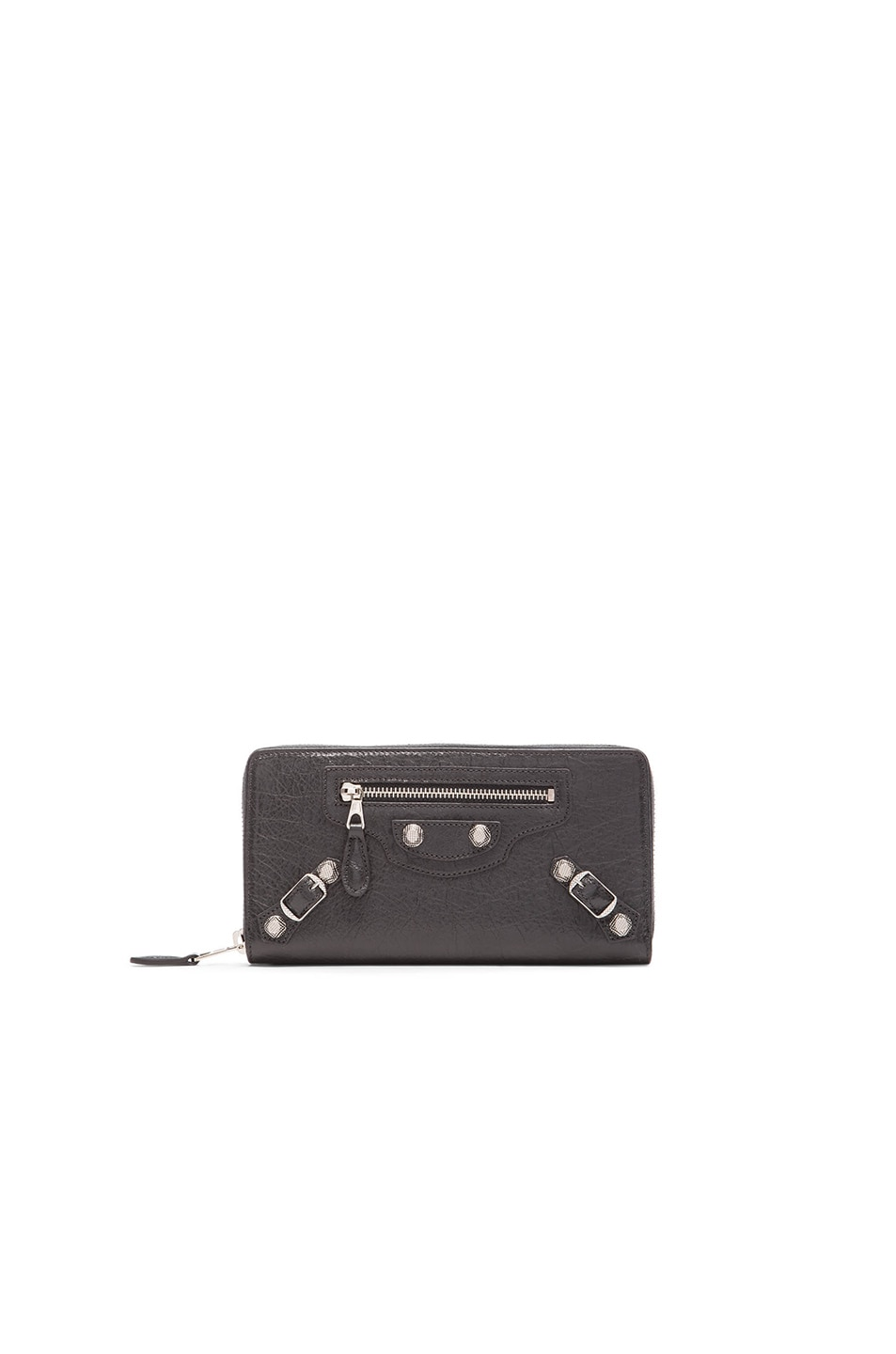 Image 1 of Balenciaga Giant Continental Zip Wallet in Anthracite