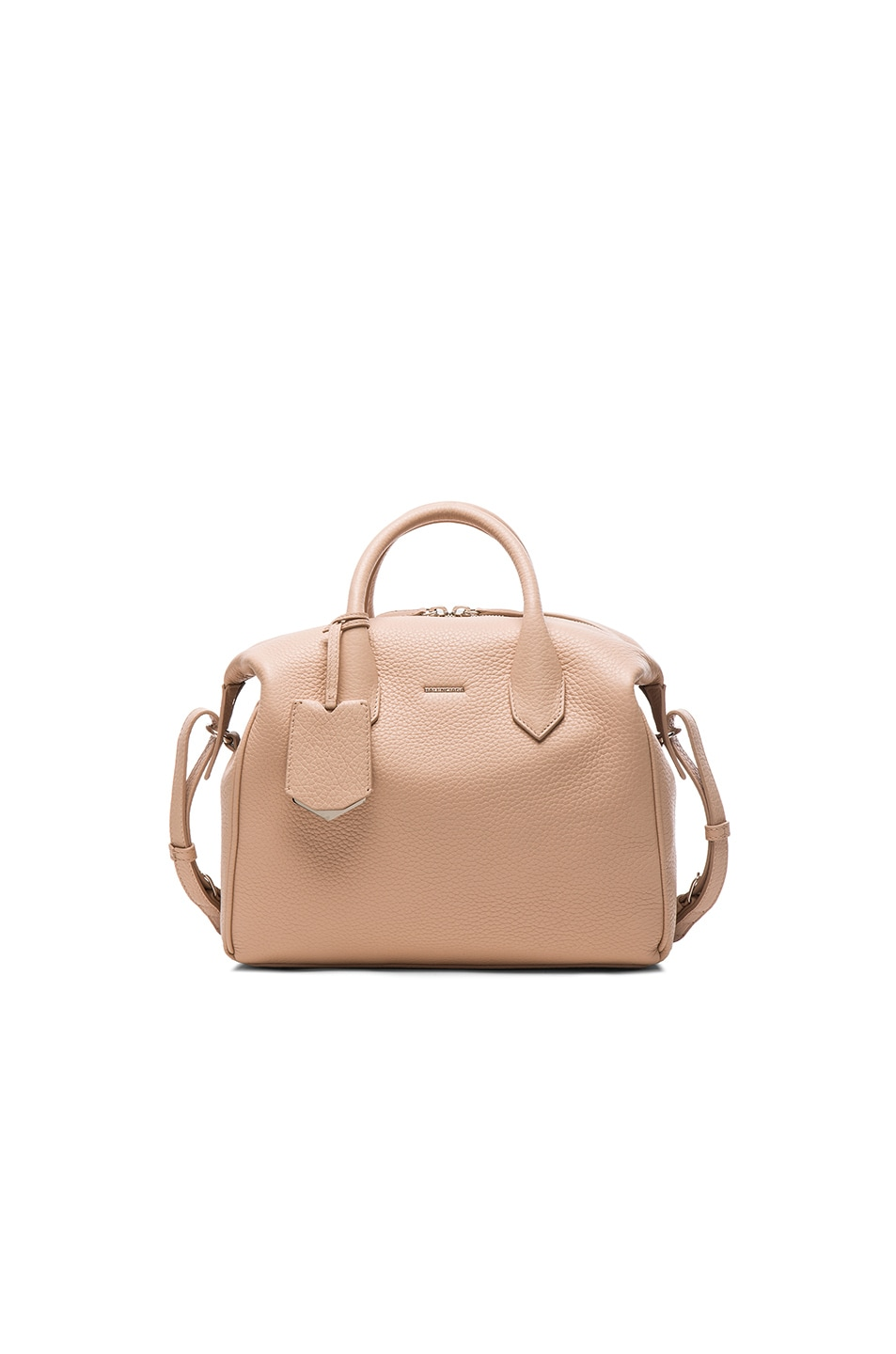 Image 1 of Balenciaga Infanta Small Boston AJ in Cashmere Beige