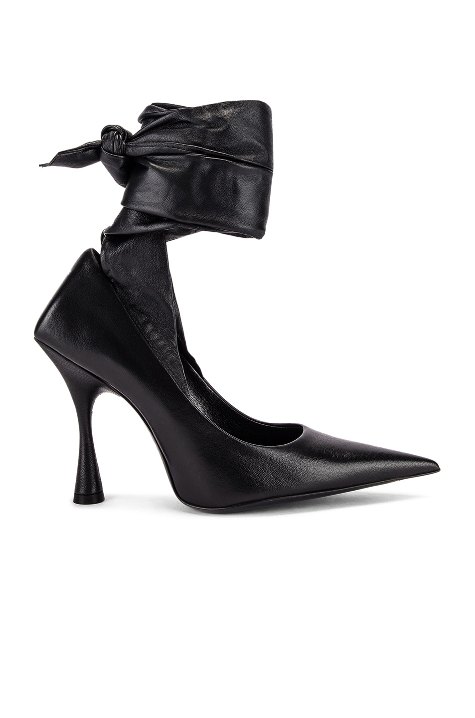 Image 1 of Balenciaga Dance Knife Wrap Around Pumps in Black
