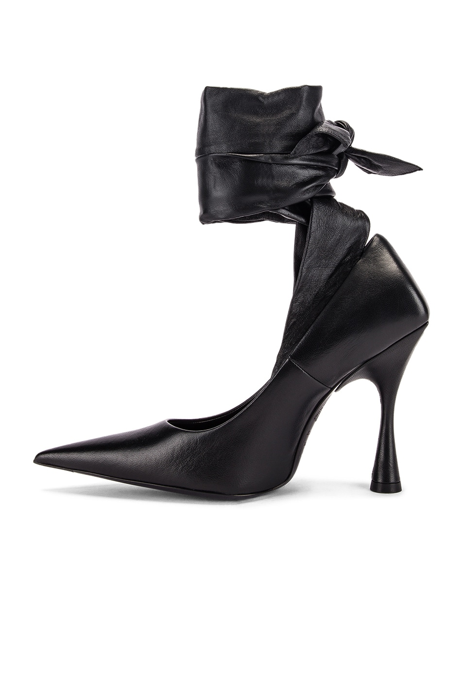 Image 5 of Balenciaga Dance Knife Wrap Around Pumps in Black