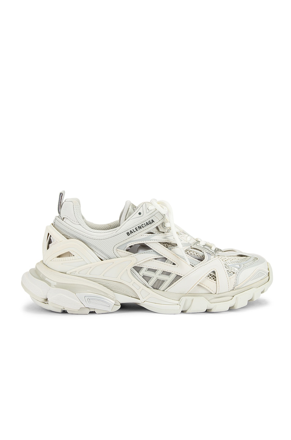 Image 1 of Balenciaga Track Open Sneakers in White