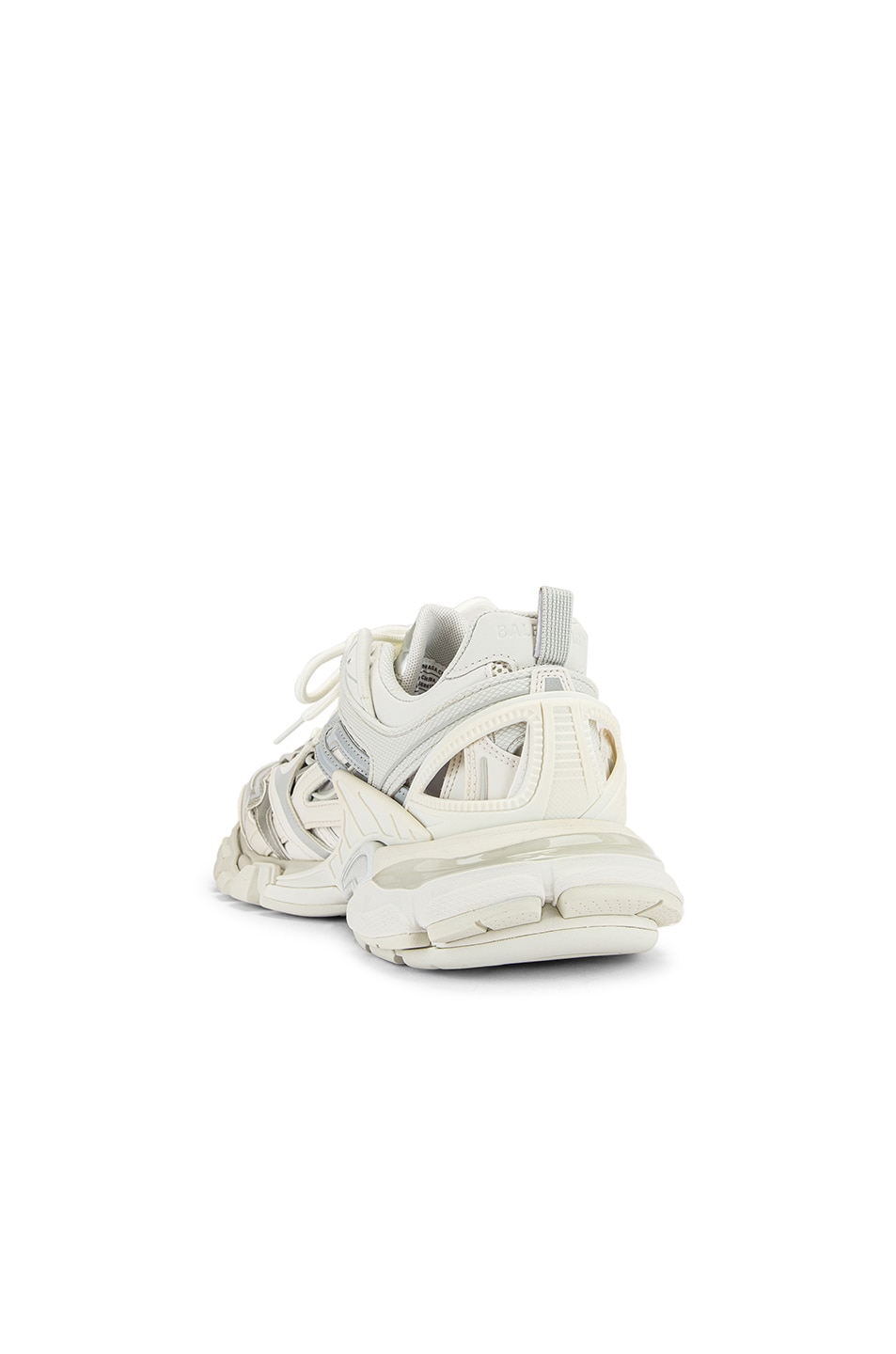 Image 3 of Balenciaga Track Open Sneakers in White
