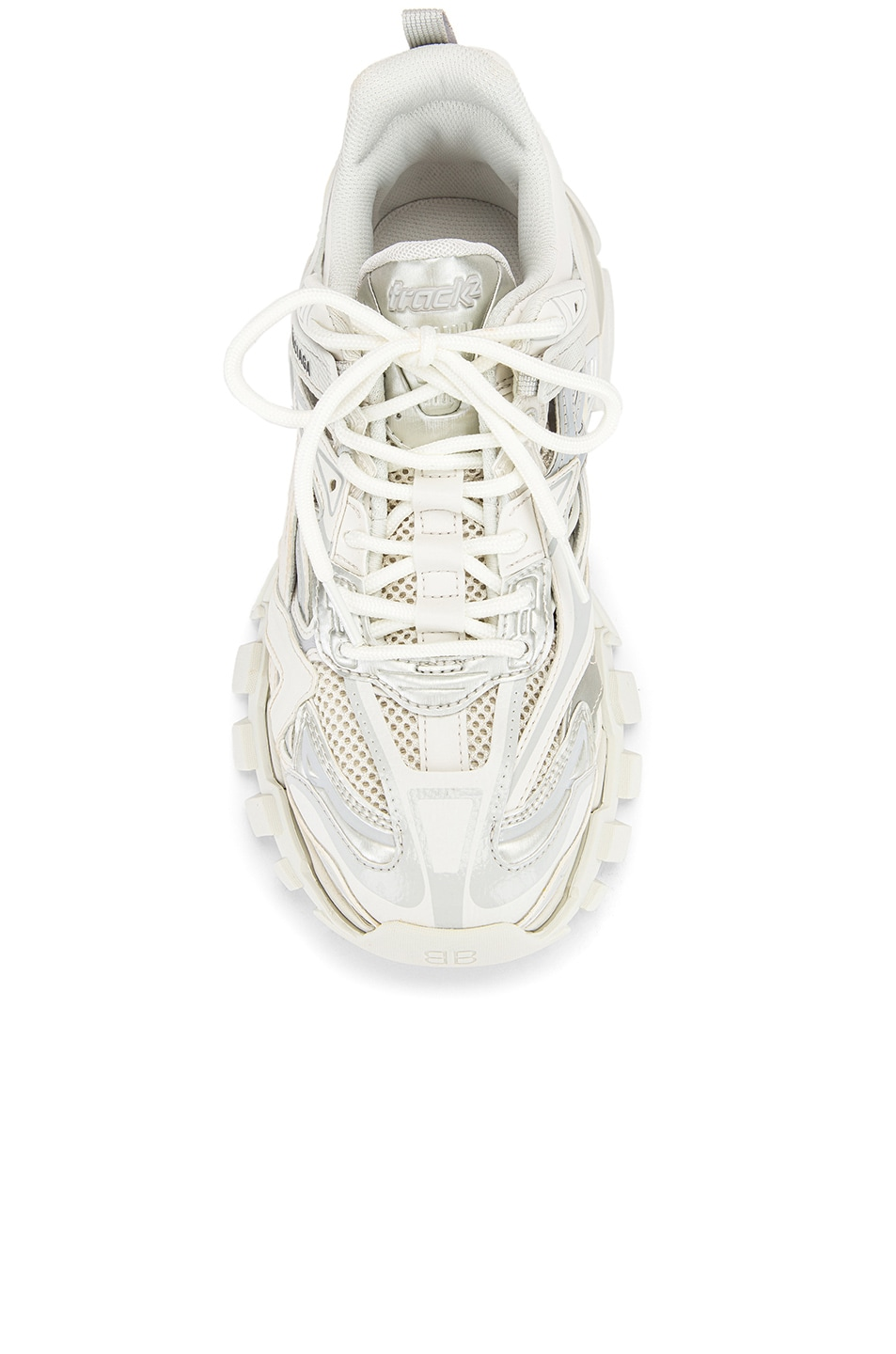Image 4 of Balenciaga Track Open Sneakers in White