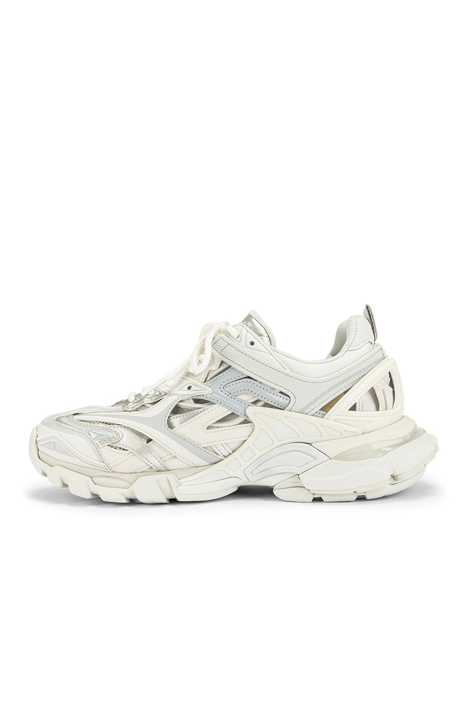 Image 5 of Balenciaga Track Open Sneakers in White