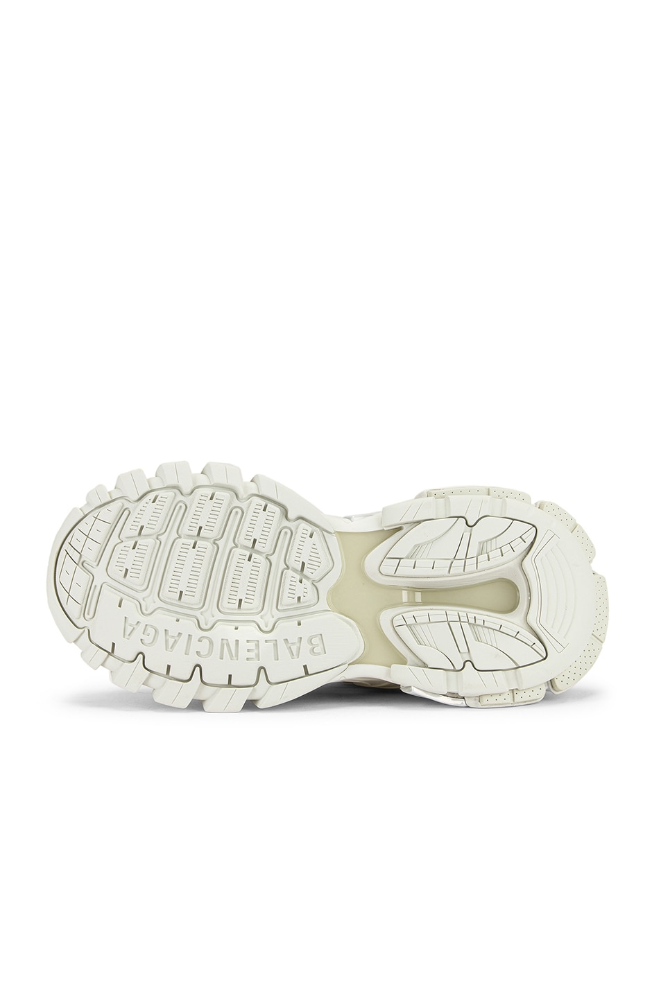 Image 6 of Balenciaga Track Open Sneakers in White