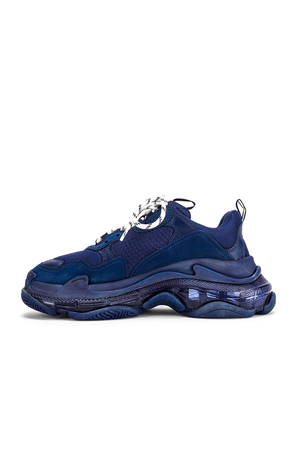 Image 5 of Balenciaga Triple S Sneakers in Navy