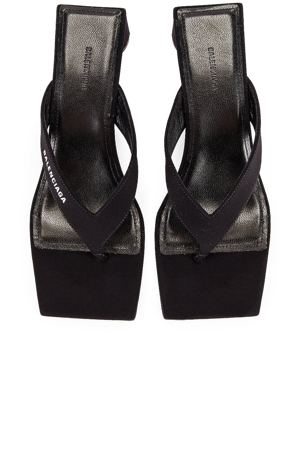 balenciaga black sandals