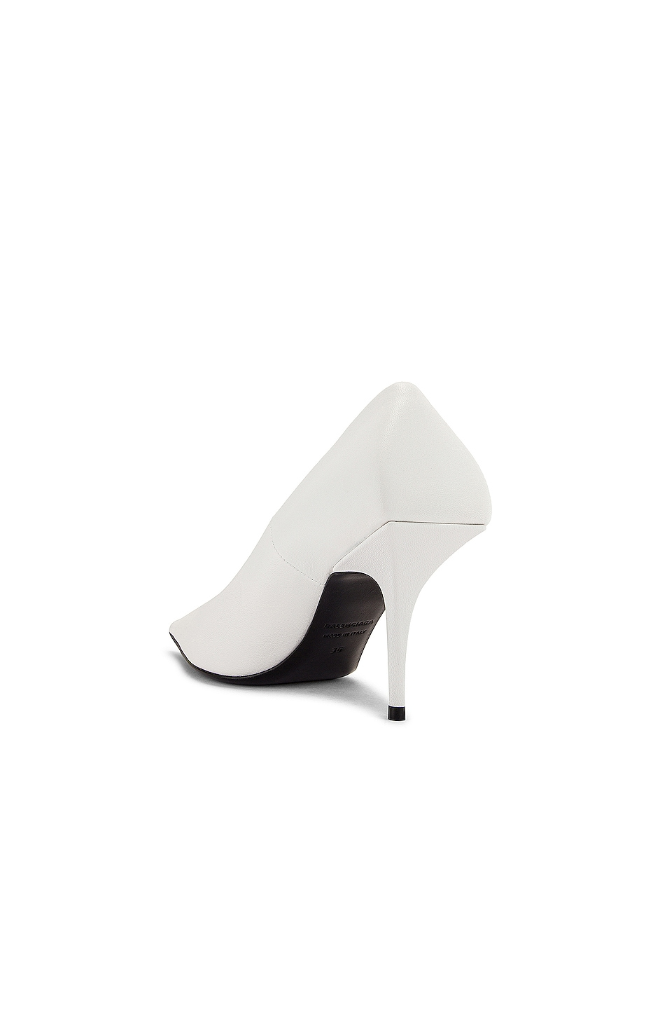Image 3 of Balenciaga Square Knife Pumps in White